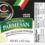4C Grated Cheese Recalled for Possible Salmonella