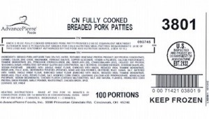 AdvancePierre Pork Recall