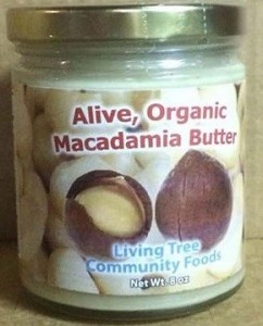 Alive Organic Macadamia Butter Recall