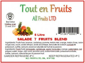 All Fruits Listeria Recall