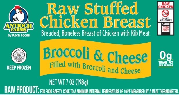 Chicken Entrees Linked To Salmonella Outbreak Sold At These Stores