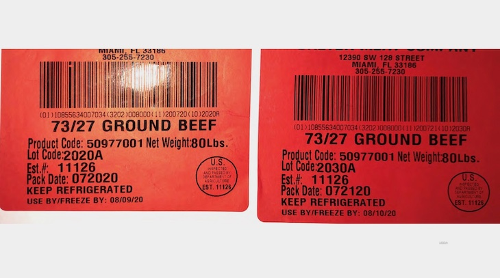 Balter Meats Company Ground Beef Recalled For Lack of Re-Inspection
