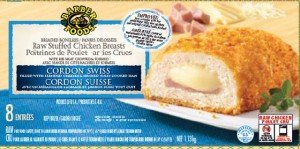 Barber Foods Chicken Cordon Swiss Salmonella Recall