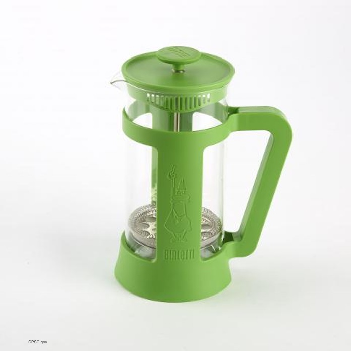 Bialetti Coffee Press Recall