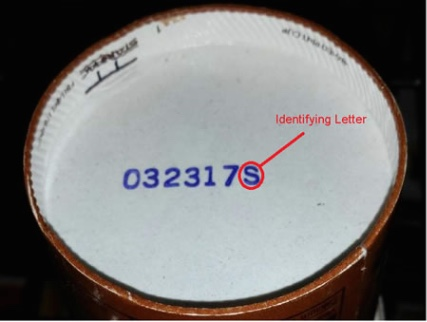 Blue Bell Ice Cream Listeria Outbreak Codes