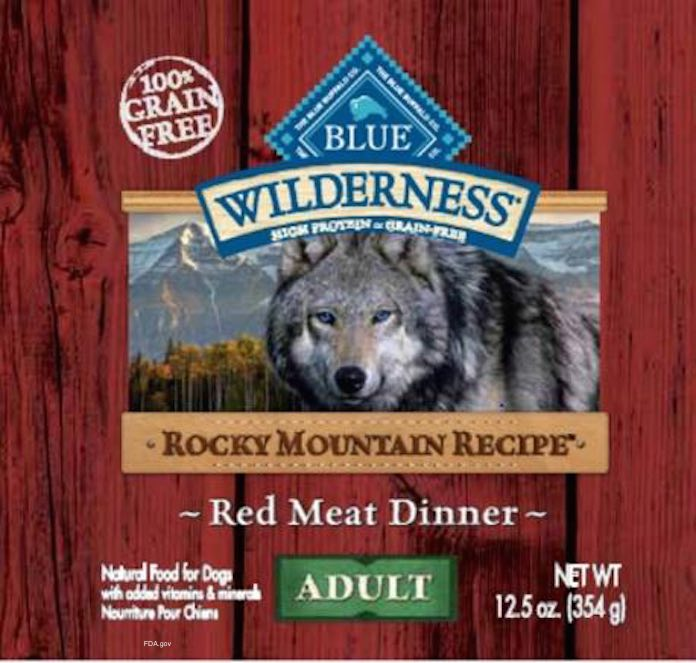 Blue Wilderness Red Meat Dinner Recall