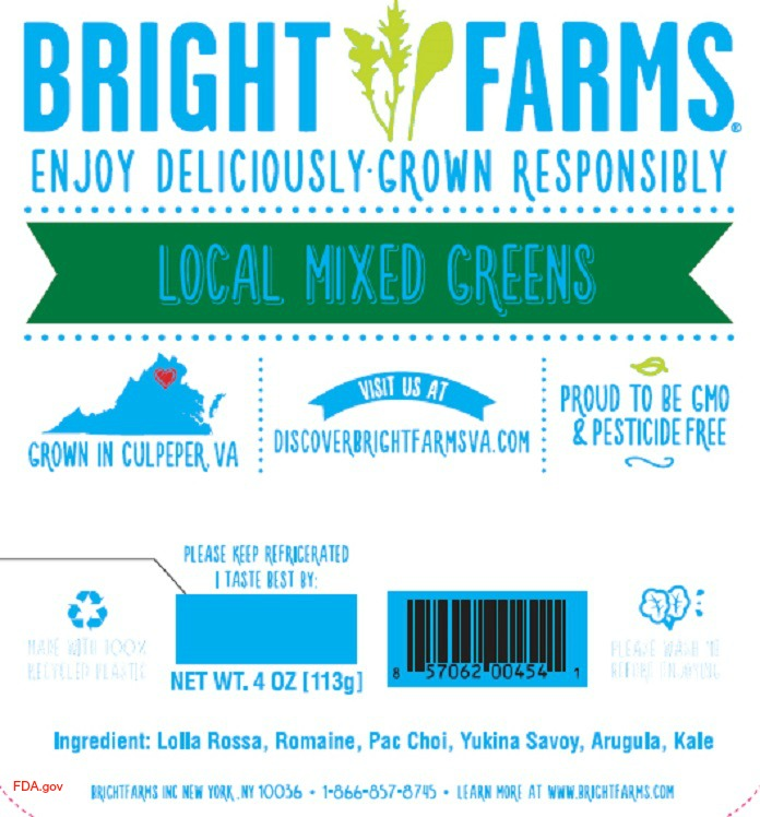 BrightFarms Salad Products Recalled for Metal Materials