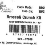 Broccoli products recalled in Alaska