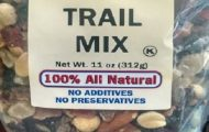 Trail Mixes Recalled for Possible Listeria Contamination