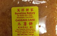 Cassava Cake and Mixed Nut Mooncake Recalled for Multiple Undeclared Allergens
