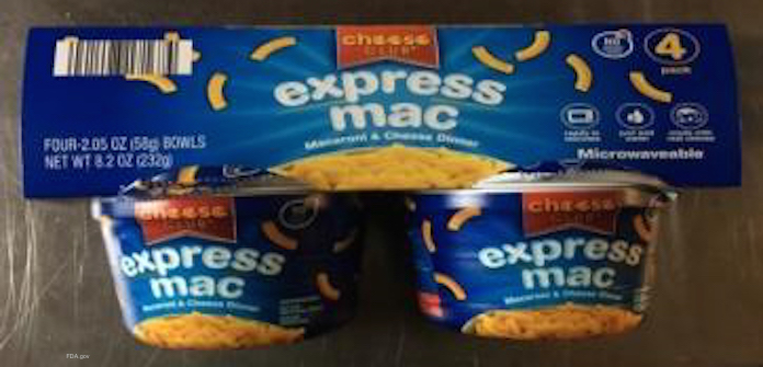 Cheese Club Mac and Cheese Salmonella Recall
