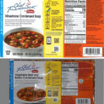 Chef Francisco Minestrone Condensed Soup Recalled For Allergens