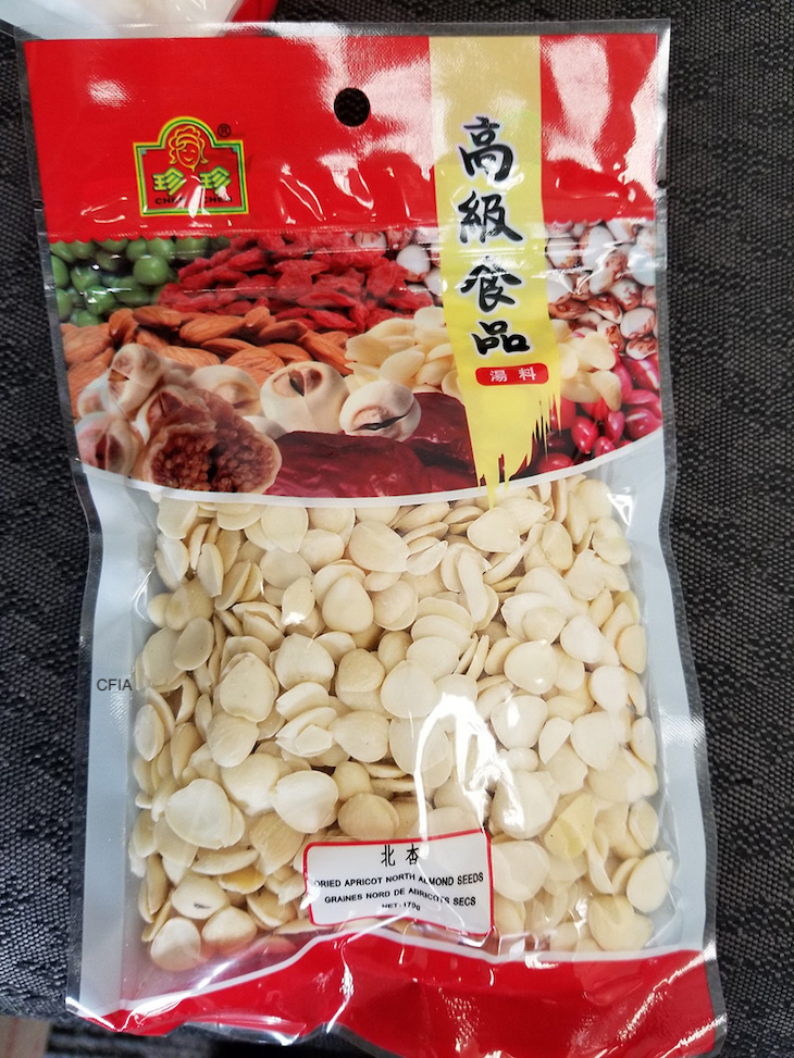 Chen Chen Dried Apricot Almond Seeds Recalled For Cyanide Poisoning