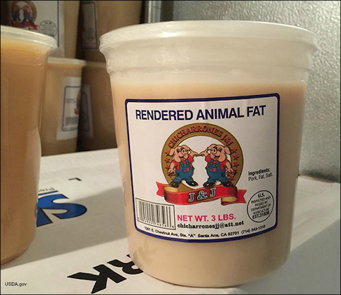 Chicharrones Pork Lard Recall