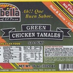 Isabella Foods Recalls Tamales Because of Undeclared Wheat and Soy