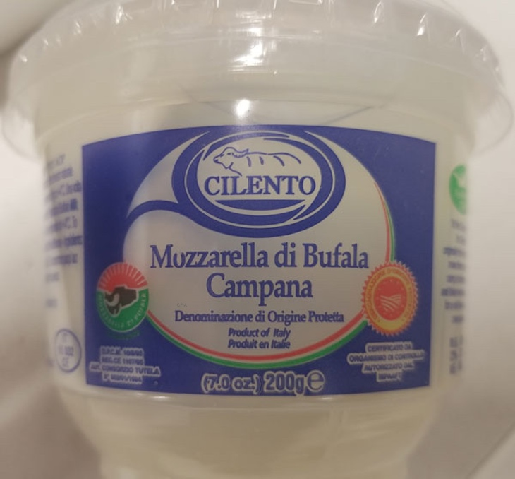 Cilento Mozzarella di Bufala Campana Recalled For Listeria