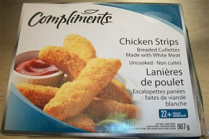 Compliments Chicken Strips Salmonella Recall