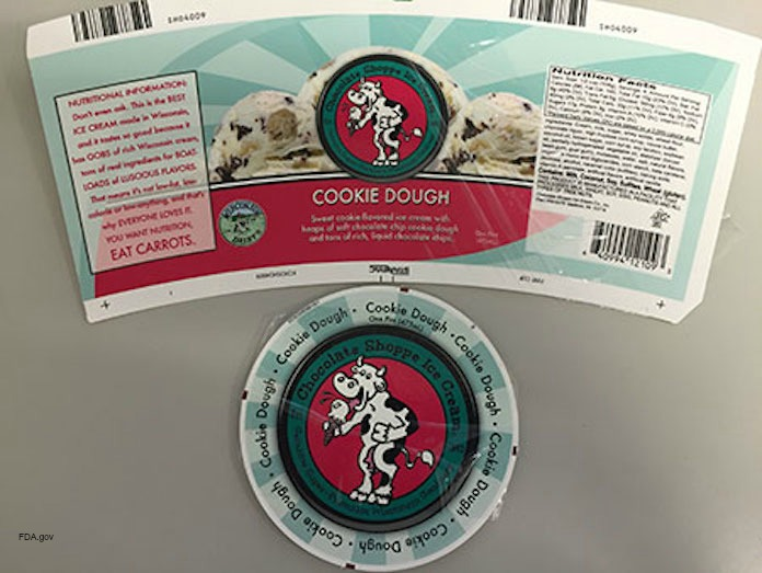 Cookie Dough Ice Cream Listeria Recall