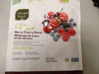 Costco Natures Touch Berry Hepatitis Recall