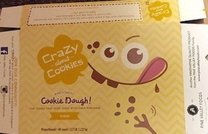 Crazy About Cookies Allergen Recall