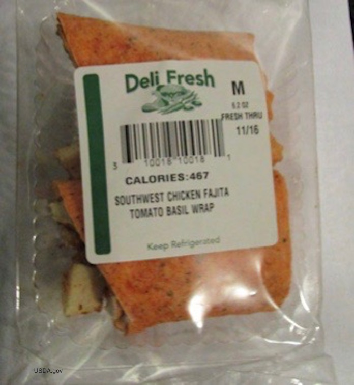 Deli Fresh Wrap Recall