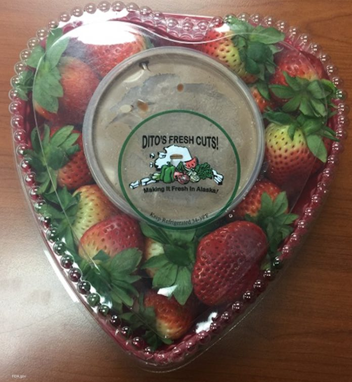 Ditos Heart Strawberries Allergen Recall