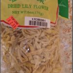 Peony Mark Dried Lily Flower Recalled for Sulfites