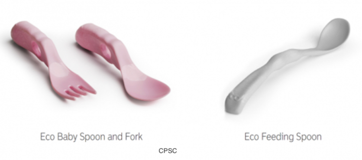 Eco Baby Spoons and Other Products Recalled For Choking Hazard
