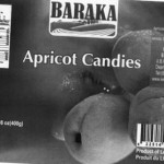 Baraka Apricot Candies Recalled Because of Undeclared Sulfites