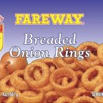 Recall of Frozen Onion Rings for Undeclared Milk Updated
