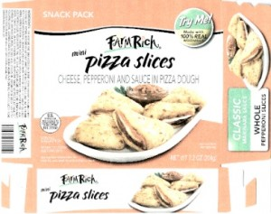 Farm Rich Pizza Slices E. coli 0121