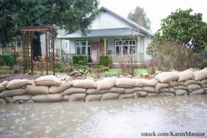 Flood- sandbags