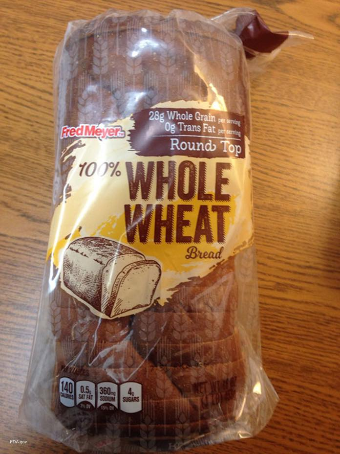 Fred Meyer Whole Wheat Bread Recall