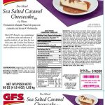 GFS Cheesecakes Recalled for Undeclared Peanut Residue