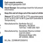 Northstar Gabapentin Capsules Recalled