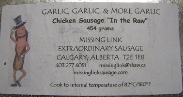 Garlic Garlic Chicken Sausage E. coli Recall
