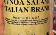 Pork Salami Products Recalled for Foreign Materials, Specifically Metal Shavings