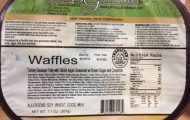 Golden Gourmet Frozen Waffle and Turkey Sausage Recalled for Listeria