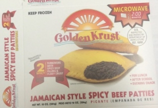 Golden Krust Beef Patties Recall
