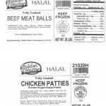 Poultry and Beef Products Recalled by Golden Platter Foods Inc. for Undeclared Milk Allergen