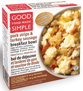 Good Food Made Simple Pork Strips & Turkey Sausage Breakfast Bowl Recall