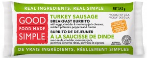 Good Food Made Simple Turkey Sausage Burrito Recall