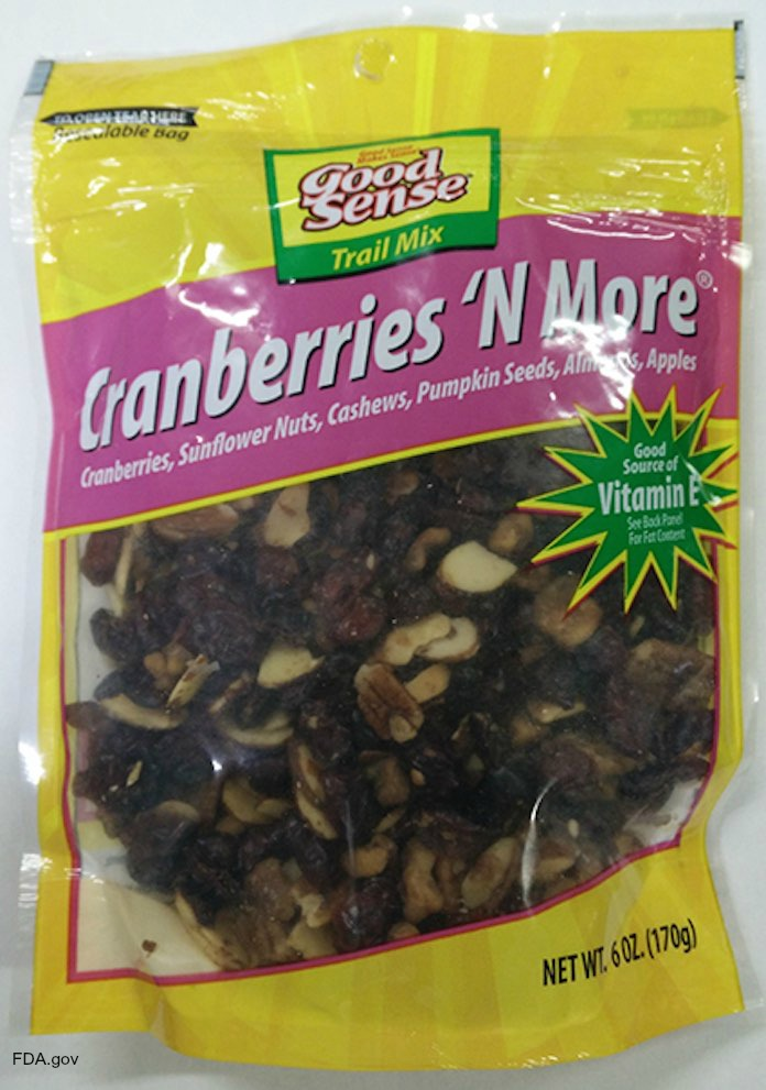 Good Sense Cranberries N More Recall