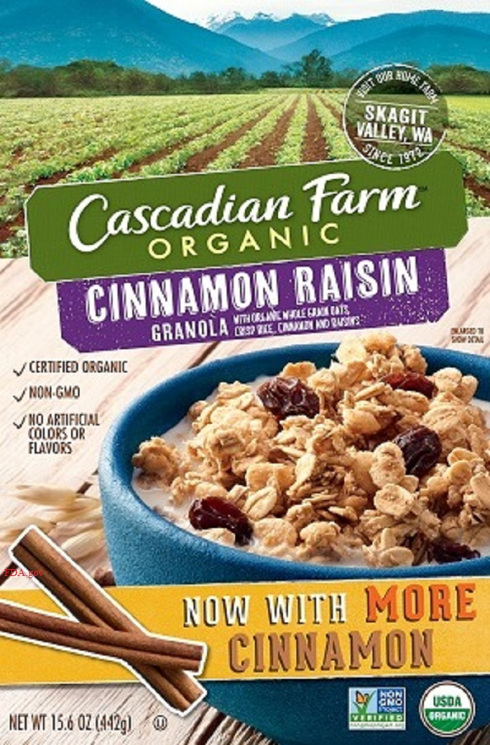 General Mills recalls granola for undeclared almonds