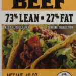 JBS USA Recalls Raw Ground Beef Contaminated with Foreign Materials