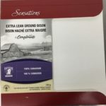 Ground Bison Recalled In Canada For E. coli O121 and O103