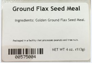 Ground Flax Seed Meal Salmonella Recall