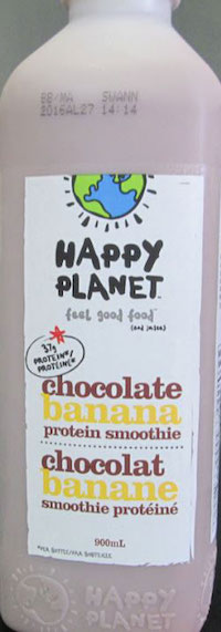 Happy Planet Smoothie Recall Allergen