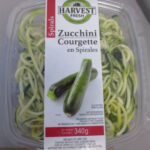 Harvest Fresh Zucchini Spirals Recalled in Canada For Possible Listeria