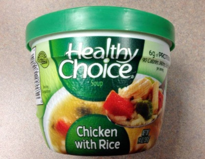 Healthy Choice Soup Recall